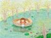 [ARzT] 꿈속에물고기 백유연 작가의 일러스트 엽서
