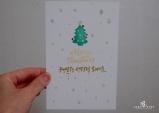 [꽃처럼 글씨] 행복한 성탄절 보내세요
