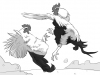 [사자가 끄적일 때] 닭싸움