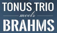 (08.31) 토너스 트리오 브람스 트리오 전곡 연주회 II [클래식, 예술의전당 IBK챔버홀]