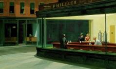 [美術紀行] 작품과의 인터뷰(6) - 에드워드 호퍼 '밤을 지새우는 사람들'