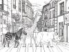 "[Fable illust] ""Escape the dreary city life"""