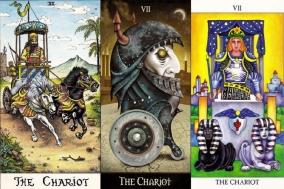 [TAROTEA] THE CHARIOT 7:목표를 향해 올곧은 눈, 거기에 비친 찬란한 미래