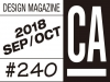 [Vol.380] 디자인 매거진 CA #240