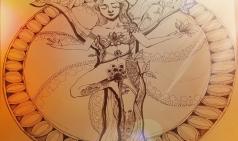 [Studio Diane☆] 펜화- 나무자세