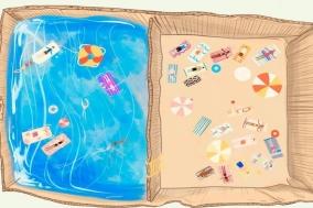 [생각하는 일러스트] 바다를 담는 상자