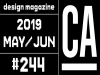 [Vol.475] 디자인 매거진 CA #244