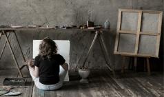 [Review] 그림은 자신의 확장, 미스 홍, 그림으로 자기를 찾아가다