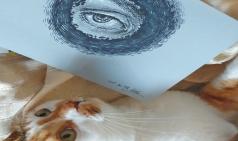 [아미그달라] 고양이와 그림