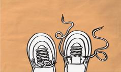 [일상을 예술으로] 신발끈