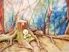 [거북이의 손그림] 숲 속 휴식