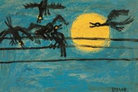 [TAROTEA] THE MOON 18: 개와 늑대의 시간, 분열된 마음