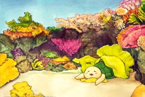 [거북이의 손그림] 낮잠