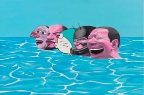 [PRESS] '세상에서 가장 슬픈 웃음', 유에민쥔의 예술적 서사 - 유에민쥔(岳敏君): 한 시대를 웃다! [전시]