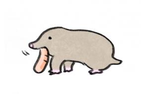 [거북이의 손그림] 번외편 - 두더지씨의 겨울나기