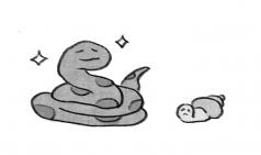[거북이의 손그림] 우렁각시 상상
