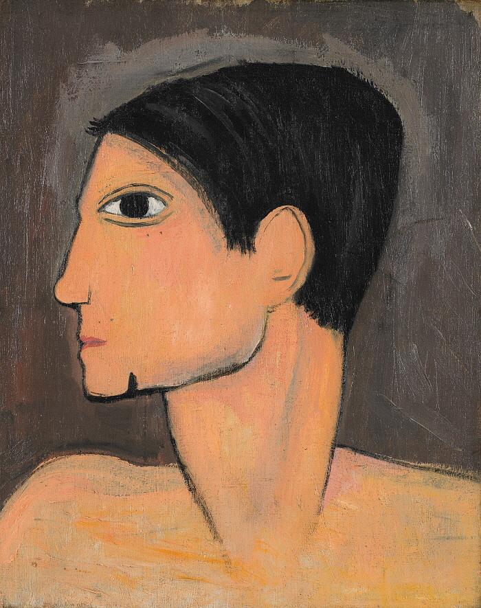 파블로 피카소, 1908년경, 캔버스에 유채, 41.4x33.3, Musée Marie Laurencin.jpg