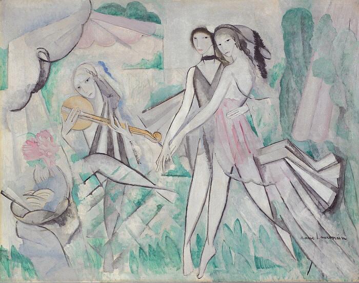 우아한 무도회 또는 시골에서의 춤, 1913, 캔버스에 유채, 112x144, Musée Marie Laurencin.jpg