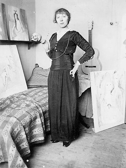 33세무렵, 마드리드에서, 1916.jpg