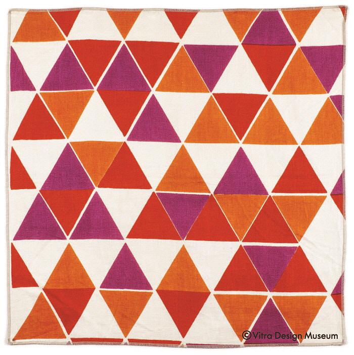 Triangles No. 561, fabric sample, 1953, 60 x 60 x 0,5 cm.jpg