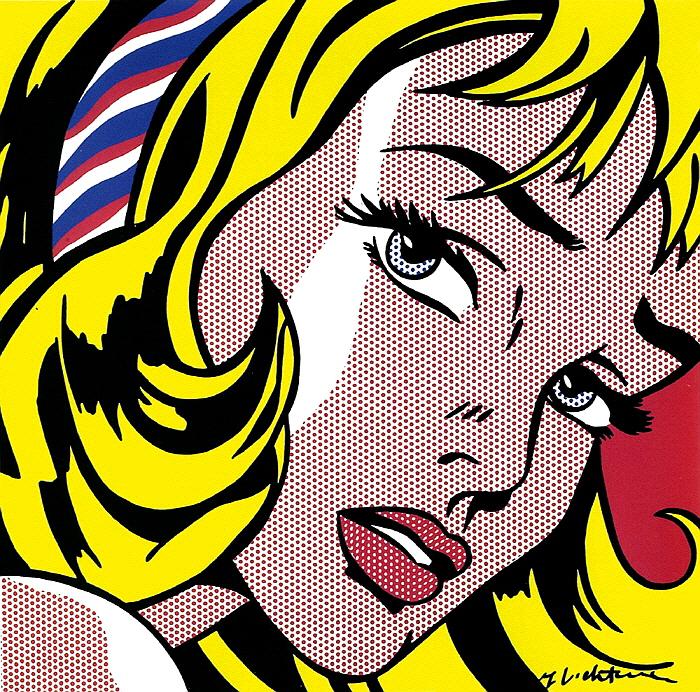 1] ROY LICHTENSTEIN_Girl with Hair Ribbon, 1965.jpg