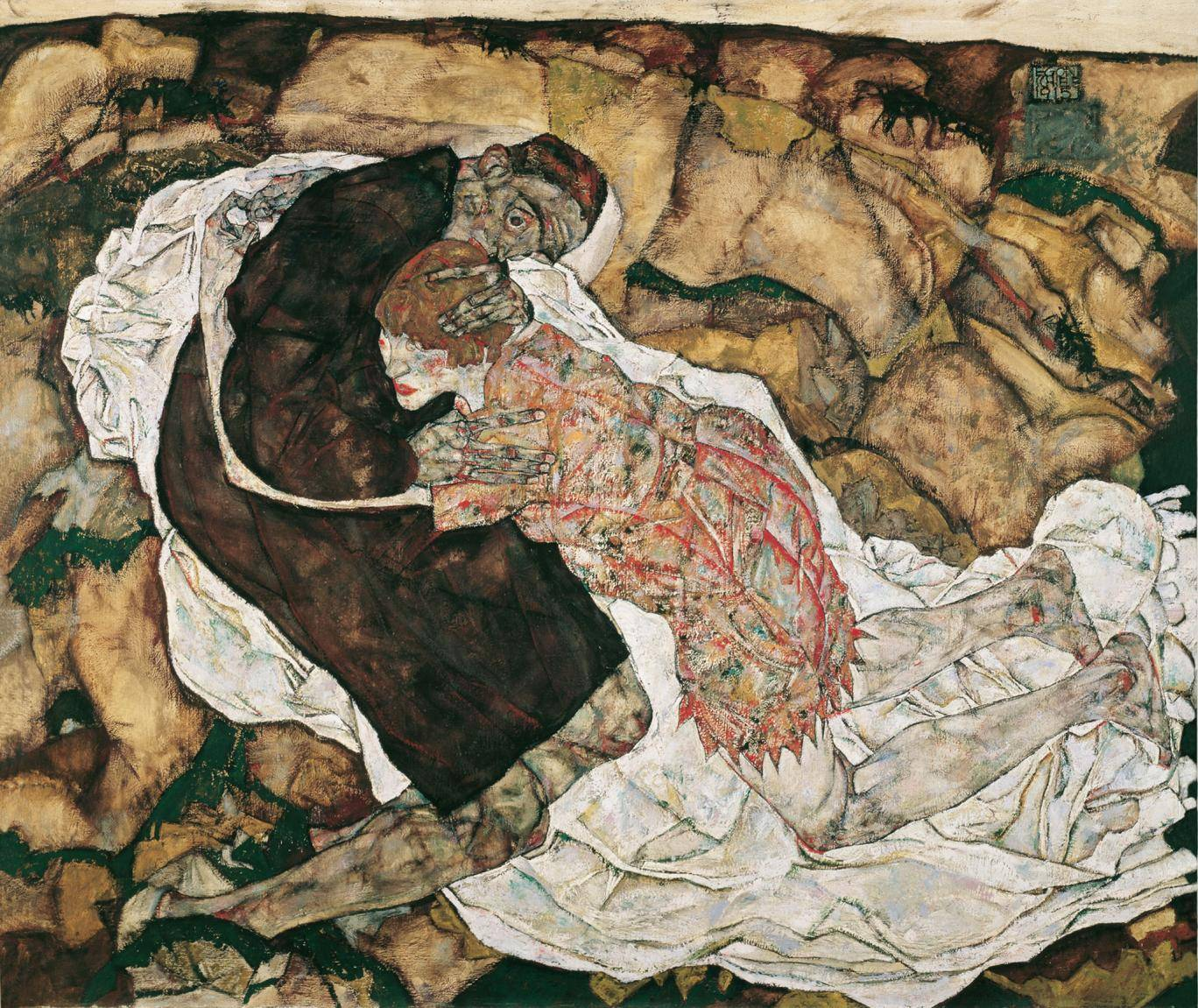 Death and the Maiden, Egon Schiele, oil paint, 1915-6.jpg