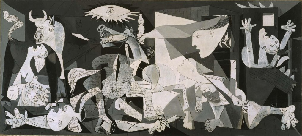 Guernica, Pablo Picasso, oil on canvas, 1937.jpg