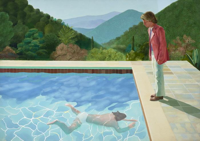 예술가의 초상 (Portrait of an Artist - Pool With Two Figures, 1972).jpg
