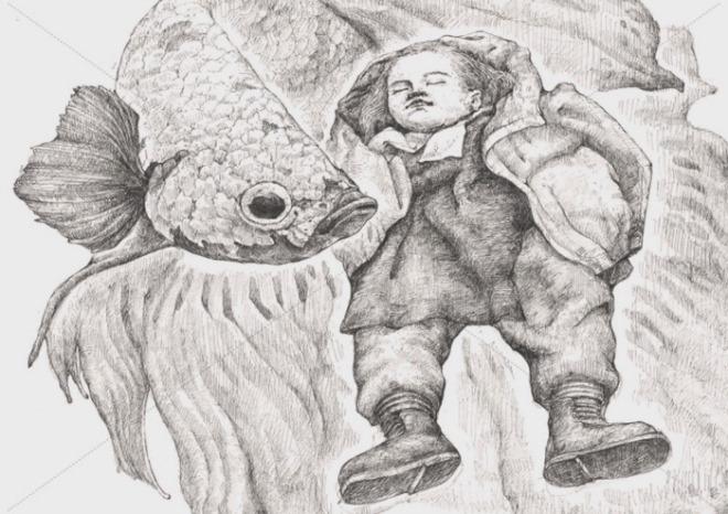 [크기변환]어린시절의 추억, 작가의 어린시절의 모습을 회상.jpg