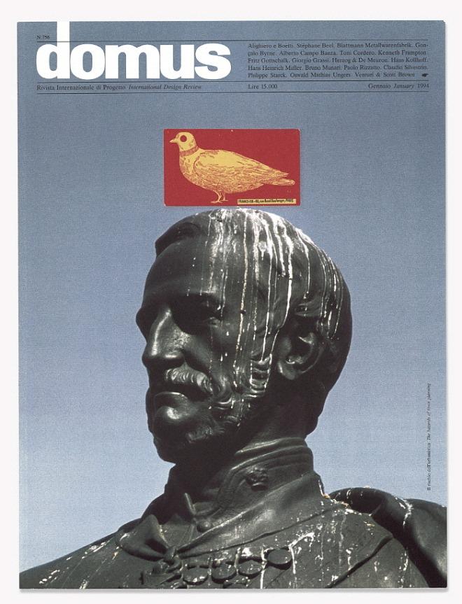 Cover design_N.756 January 1994_Domus Magazine_1994.jpg