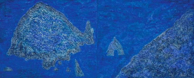 이종송_Mountain in Motion-Concerto 320x160cm,흙벽화기법에 천연안료, 2020.jpg