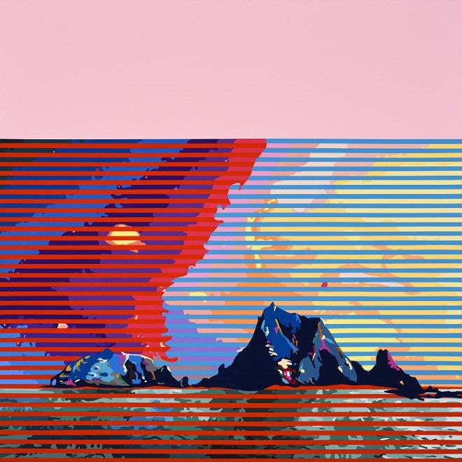 하태임, 섬, 100x100cm, Acrylic on Canvas, 2019 .jpg