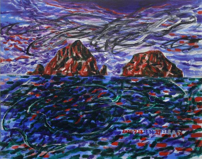 서용선, 독도 2, Acrylic on Canvas, 90.8x116.7cm, 2020.jpg