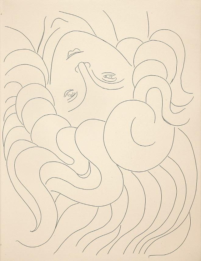 스테판 말라르메 '시집' 중 머리카락, 1932.jpg