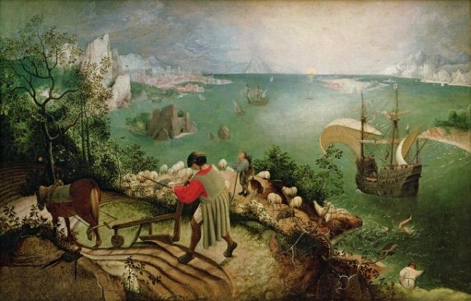[크기변환]Pieter_Bruegel_de_Oude_-_De_val_van_Icarus.jpg